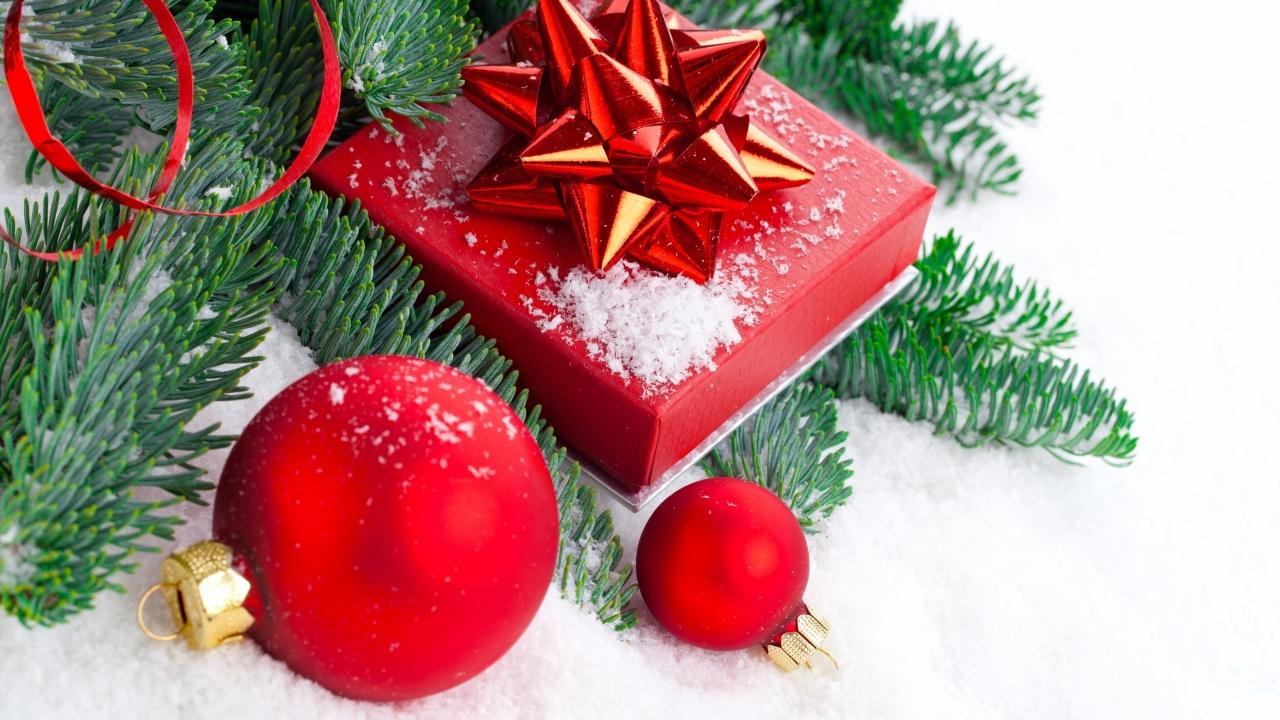 Regalos y navidad - 1280x720