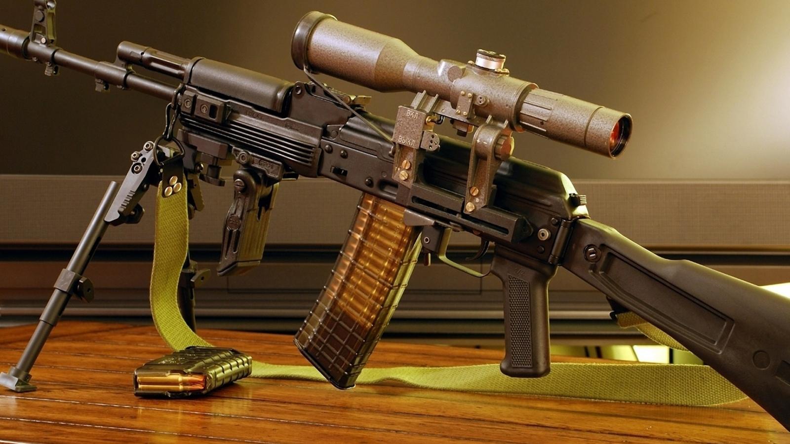 Rifle Ak-101 - 1600x900