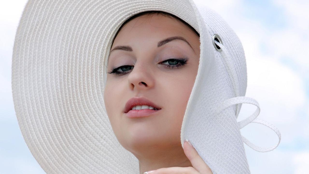 Rostro hermoso - 1280x720
