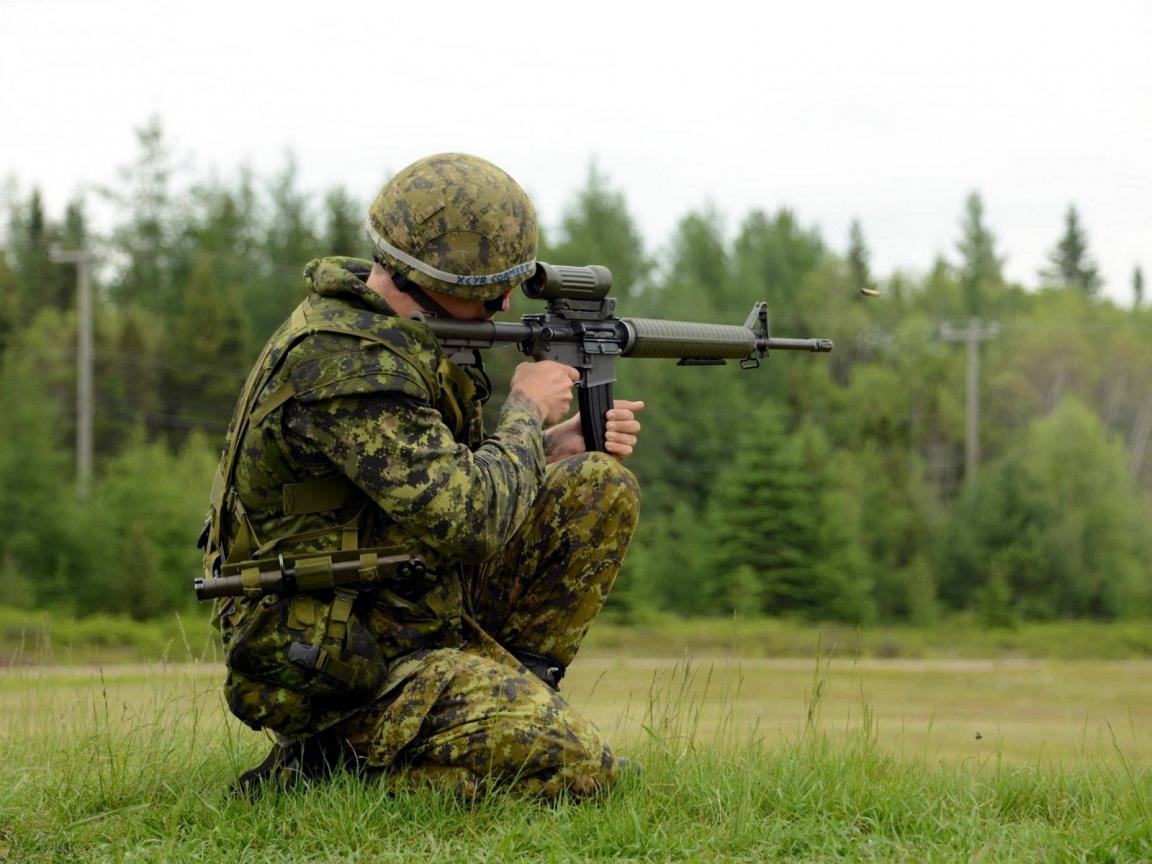 Soldado disparando - 1152x864