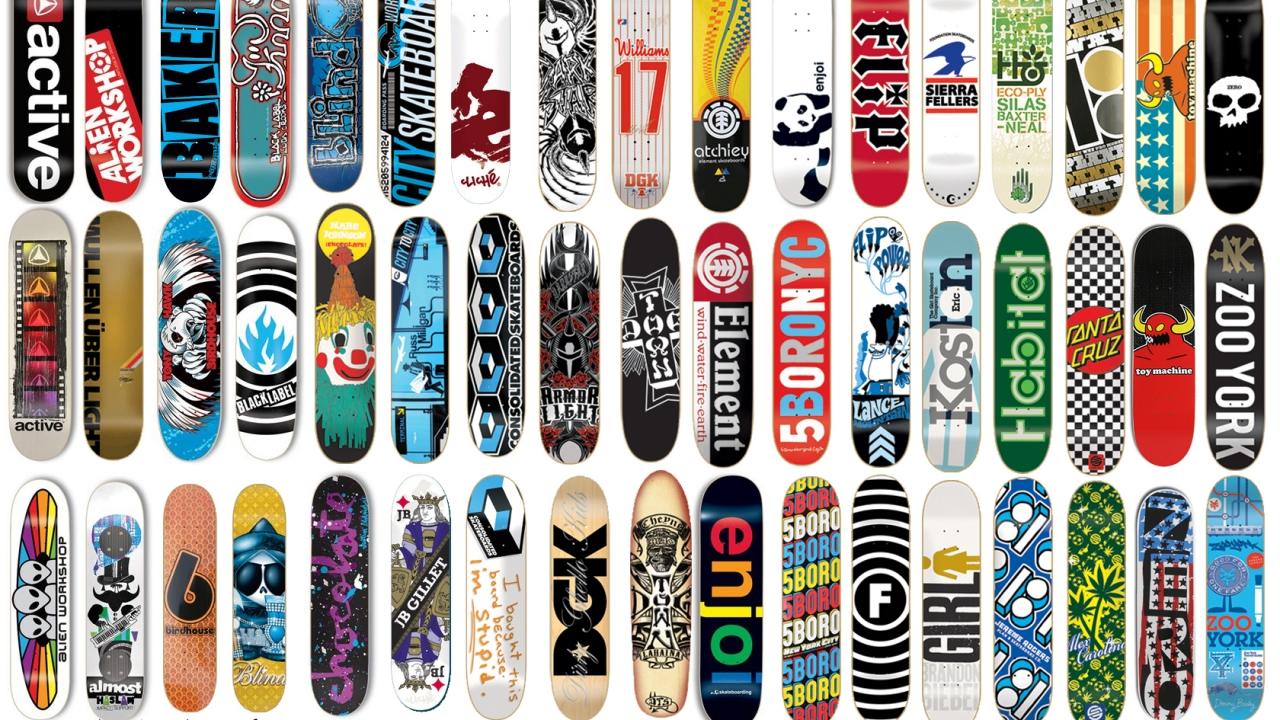 Diseño de tablas de skate - 1280x720