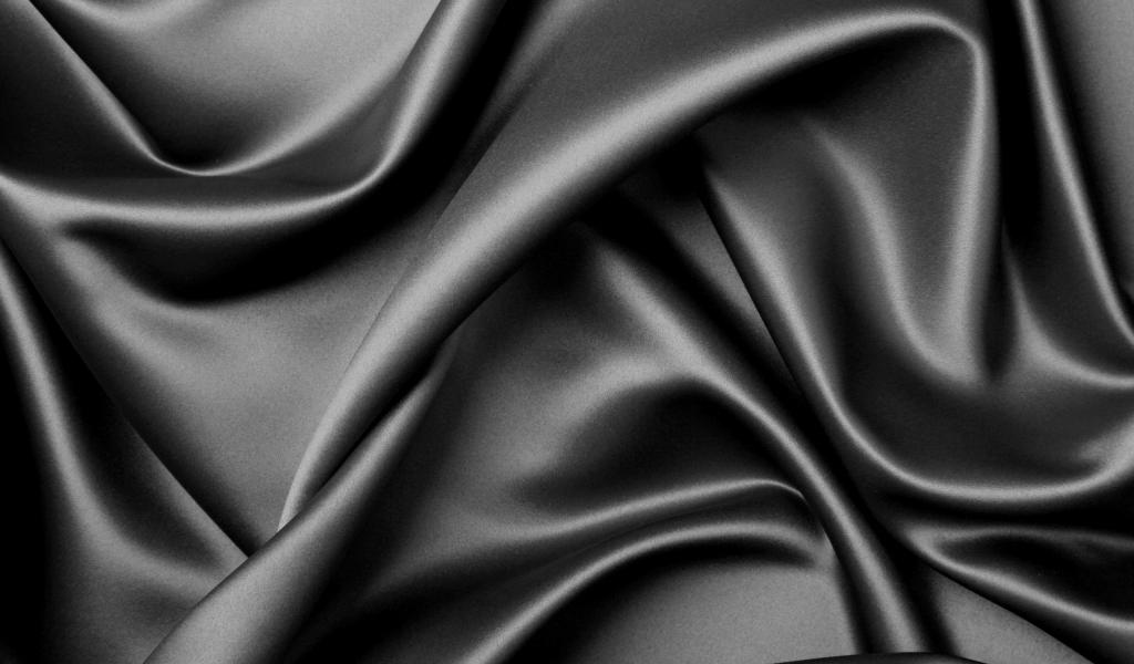 Textura de tela negra - 1024x600