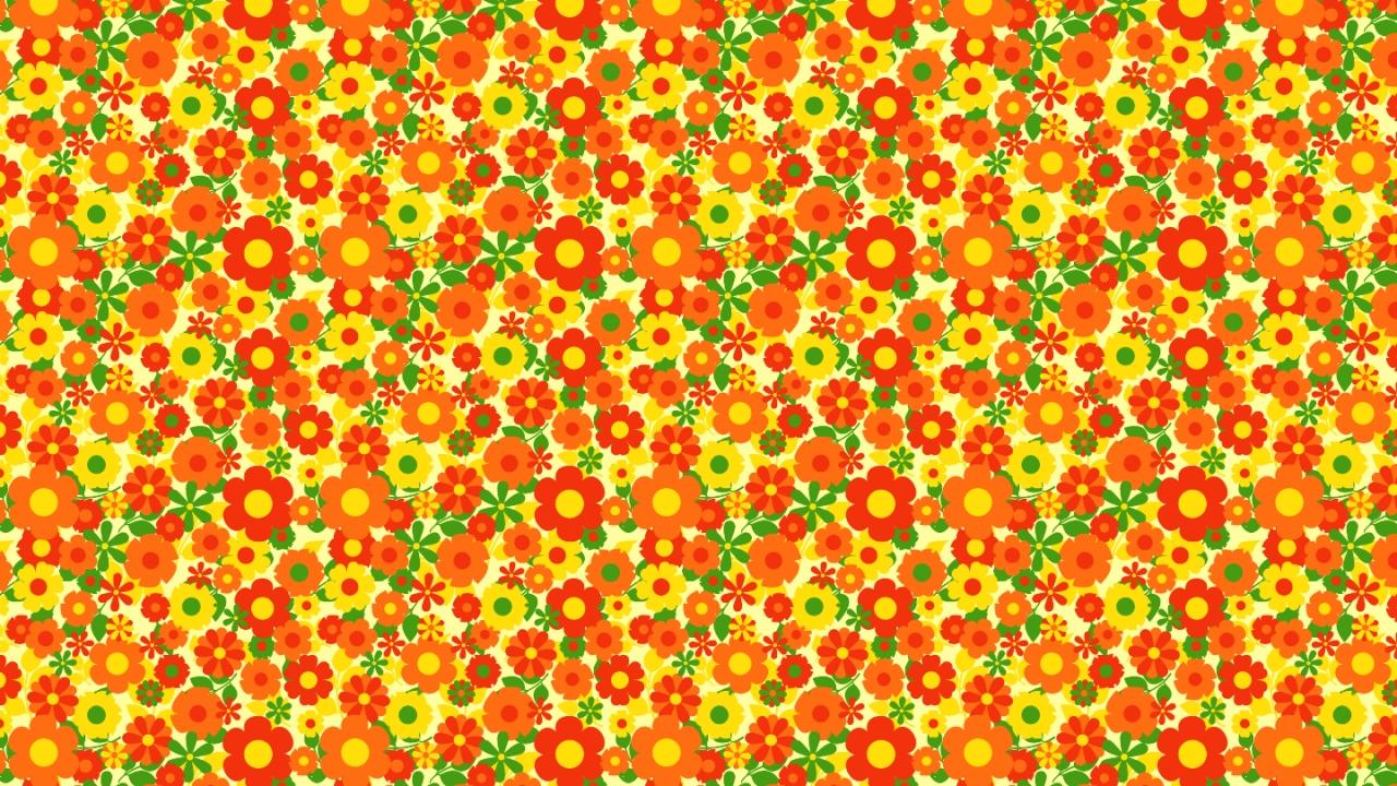 Texturas de flores - 1280x720