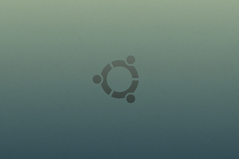 Ubuntu logo - 480x320