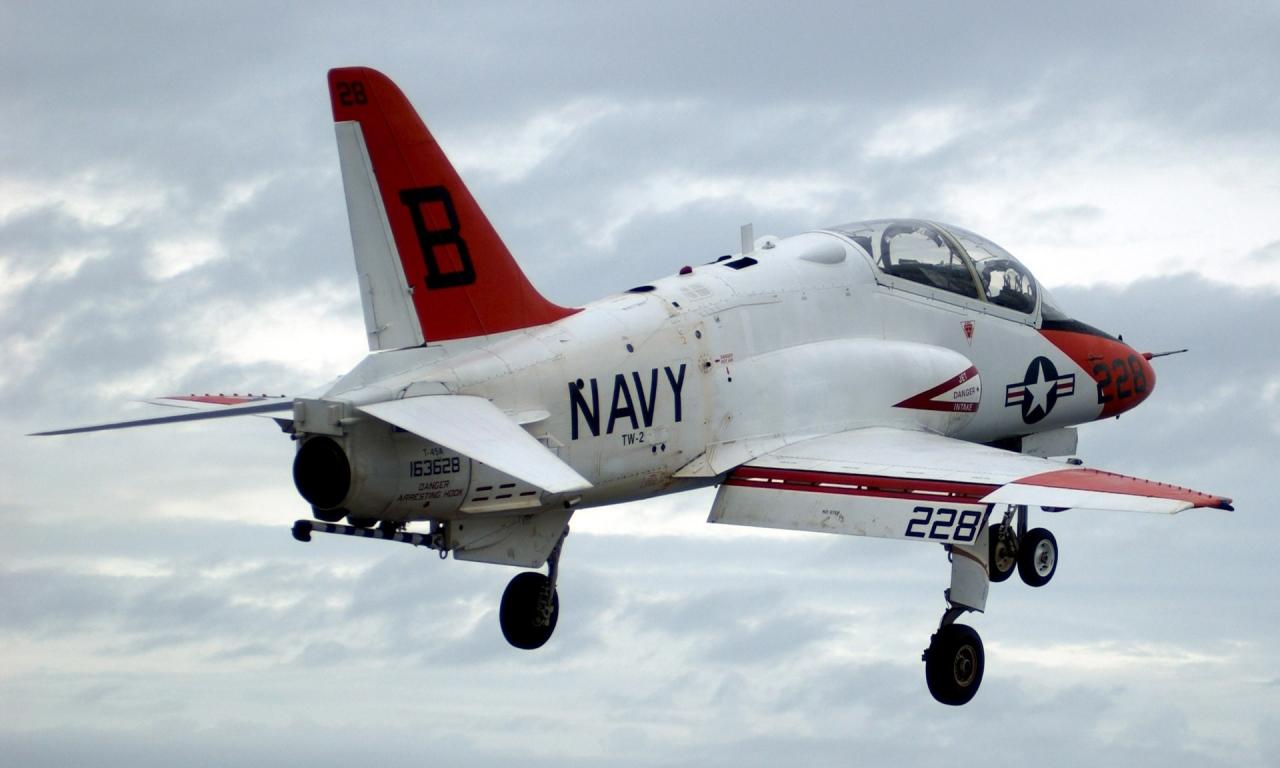 Un Avión de los Navy - 1280x768
