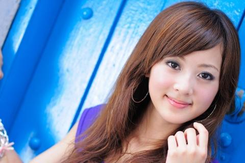 Una linda asiatica - 480x320