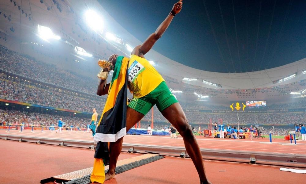 Usain Bolt en los juegos - 1000x600