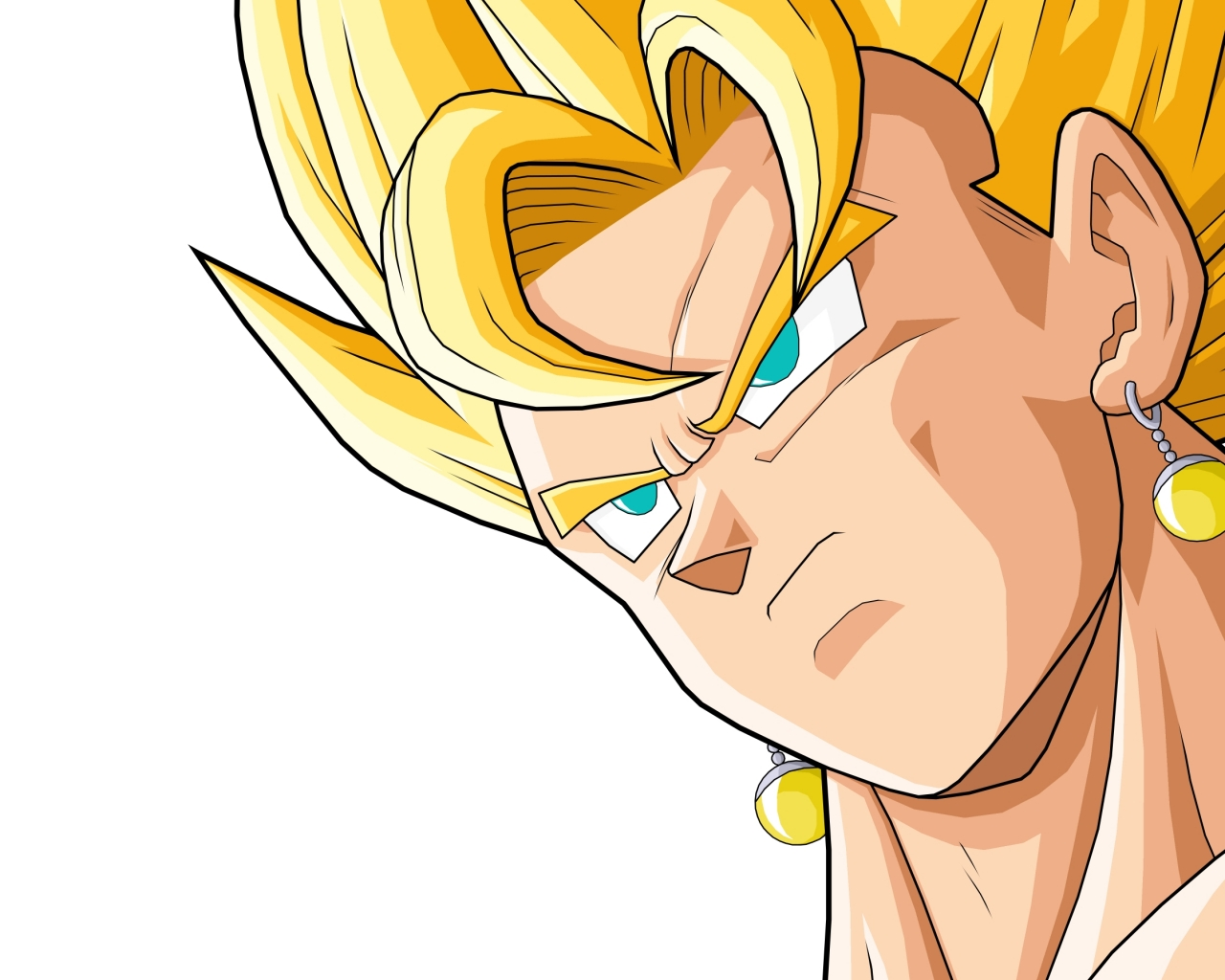 Vegeto de Dragon Ball Z - 1280x1024