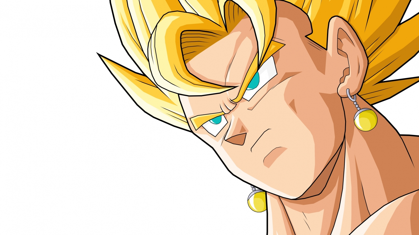 Vegeto de Dragon Ball Z - 1366x768