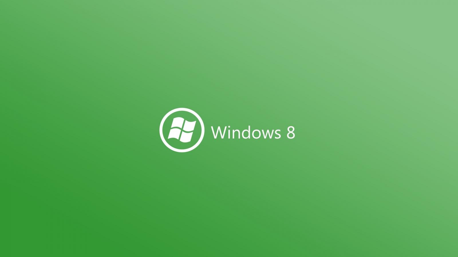 Windows 8 verde - 1600x900