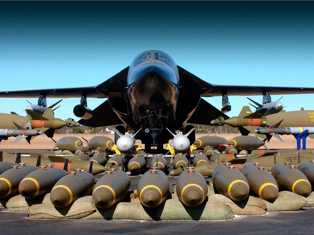 Avión bombardero - 1280x960