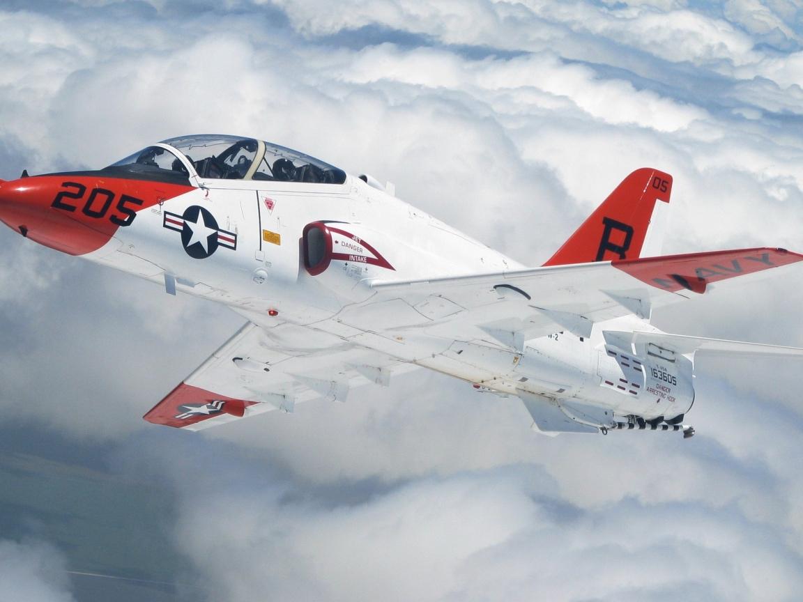 Avion de Guerra en los aires - 1152x864