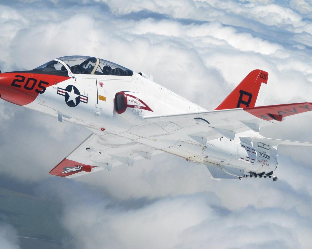 Avion de Guerra en los aires - 1280x1024