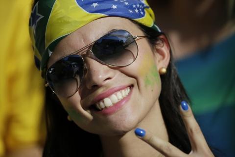 Bellas Brasileñas en el Mundial - 480x320