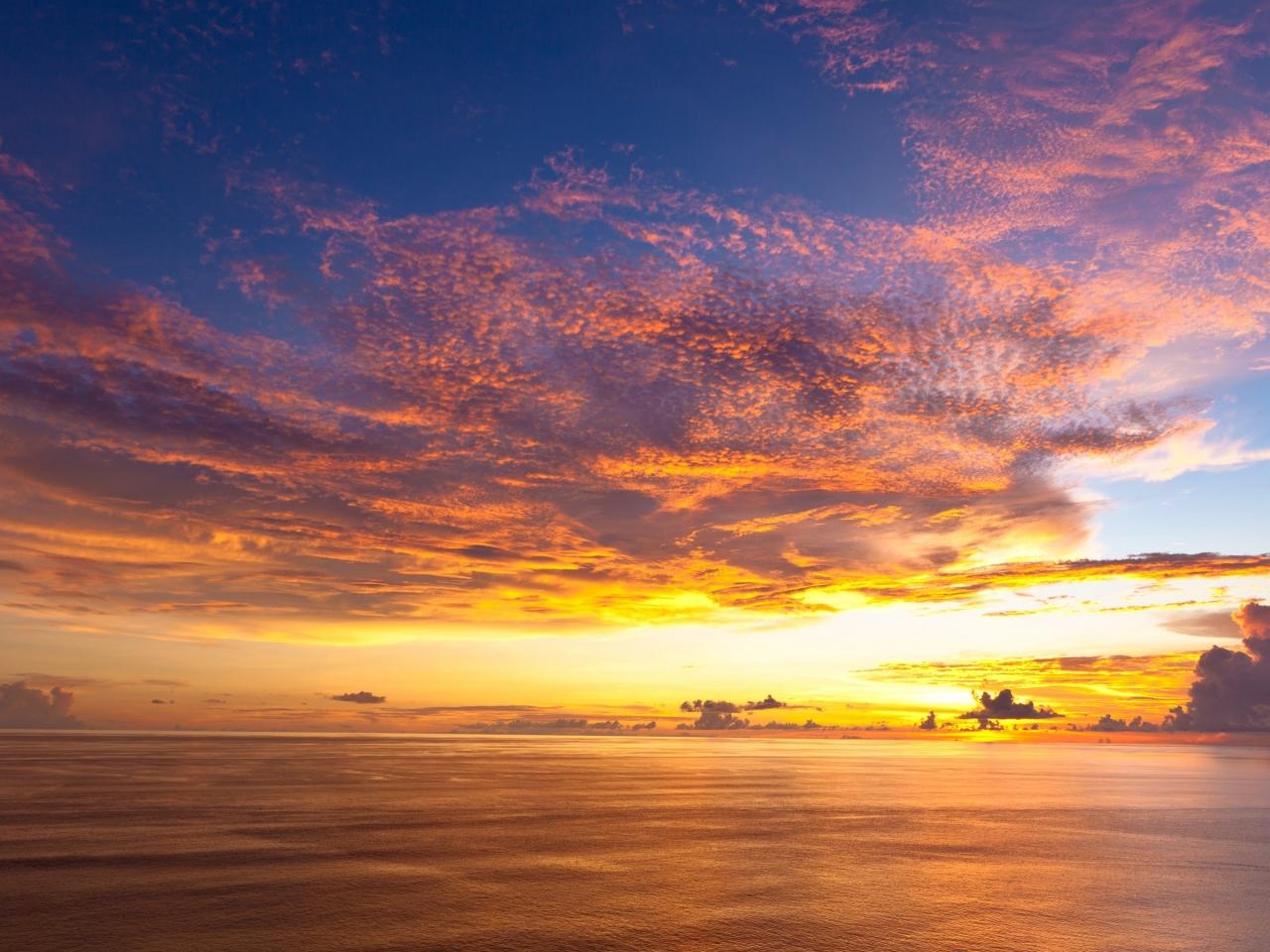 Bellas puestas de sol - 1280x960