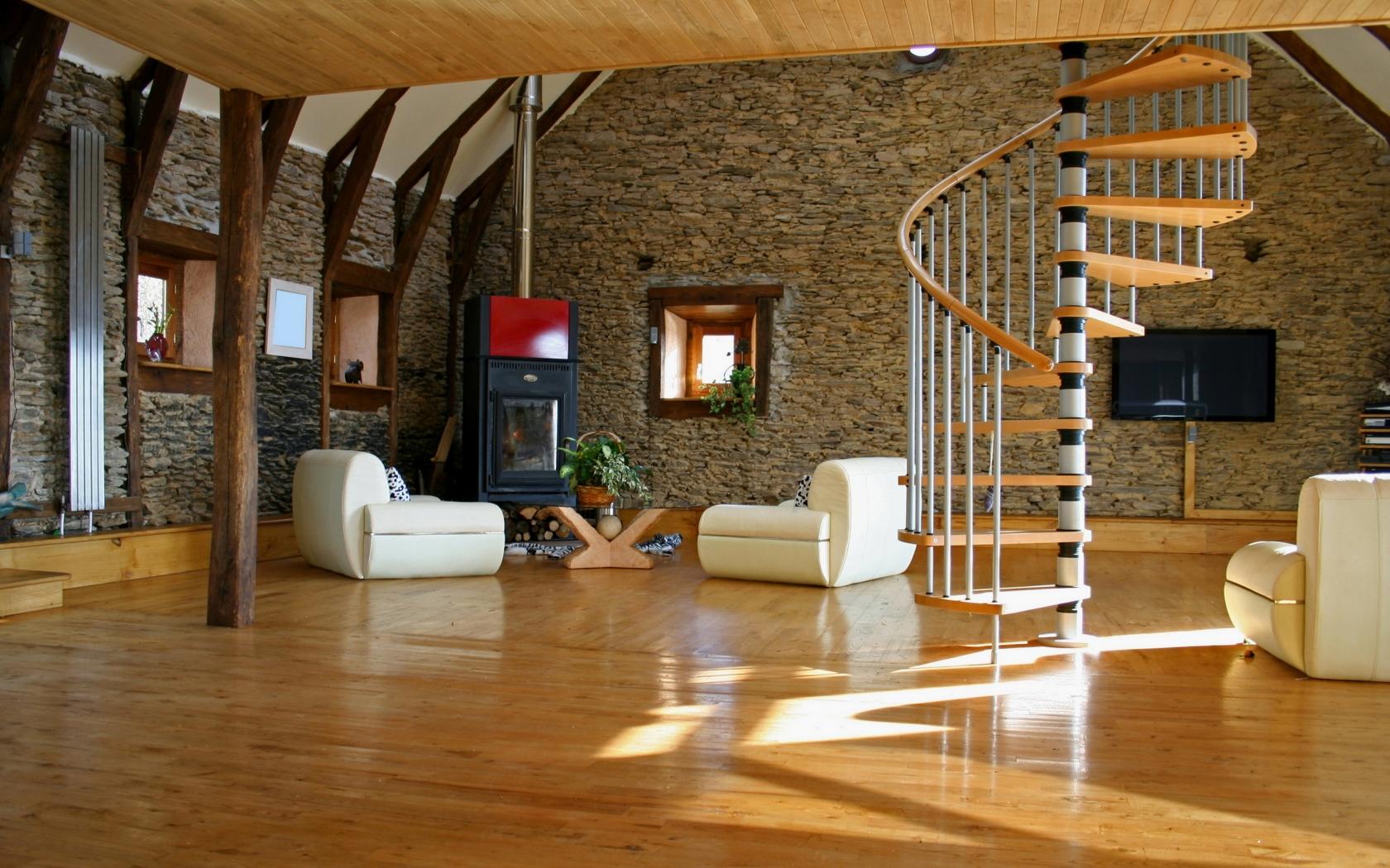 Bellos acabados interiores de casas - 1680x1050