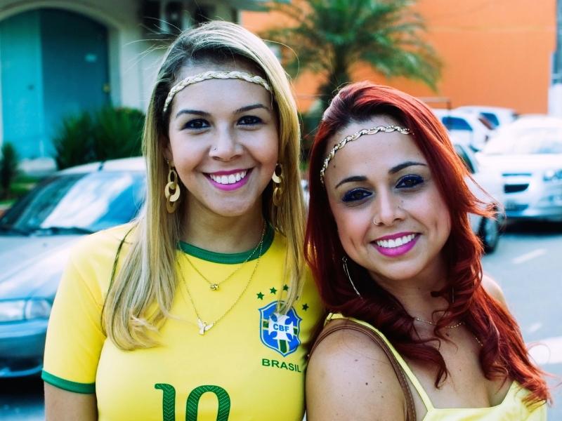 Chicas brasileñas en Mundial 2014 - 800x600