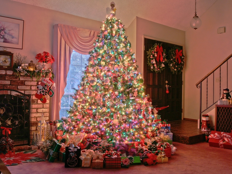 Como decorar arbol de navidad en casa - 800x600