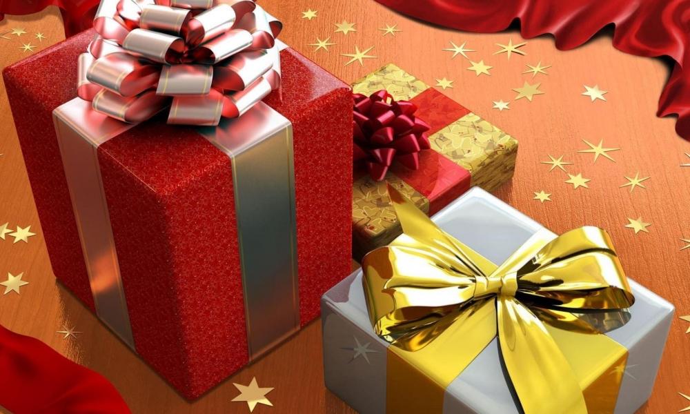 Como decorar las cajas de regalos - 1000x600