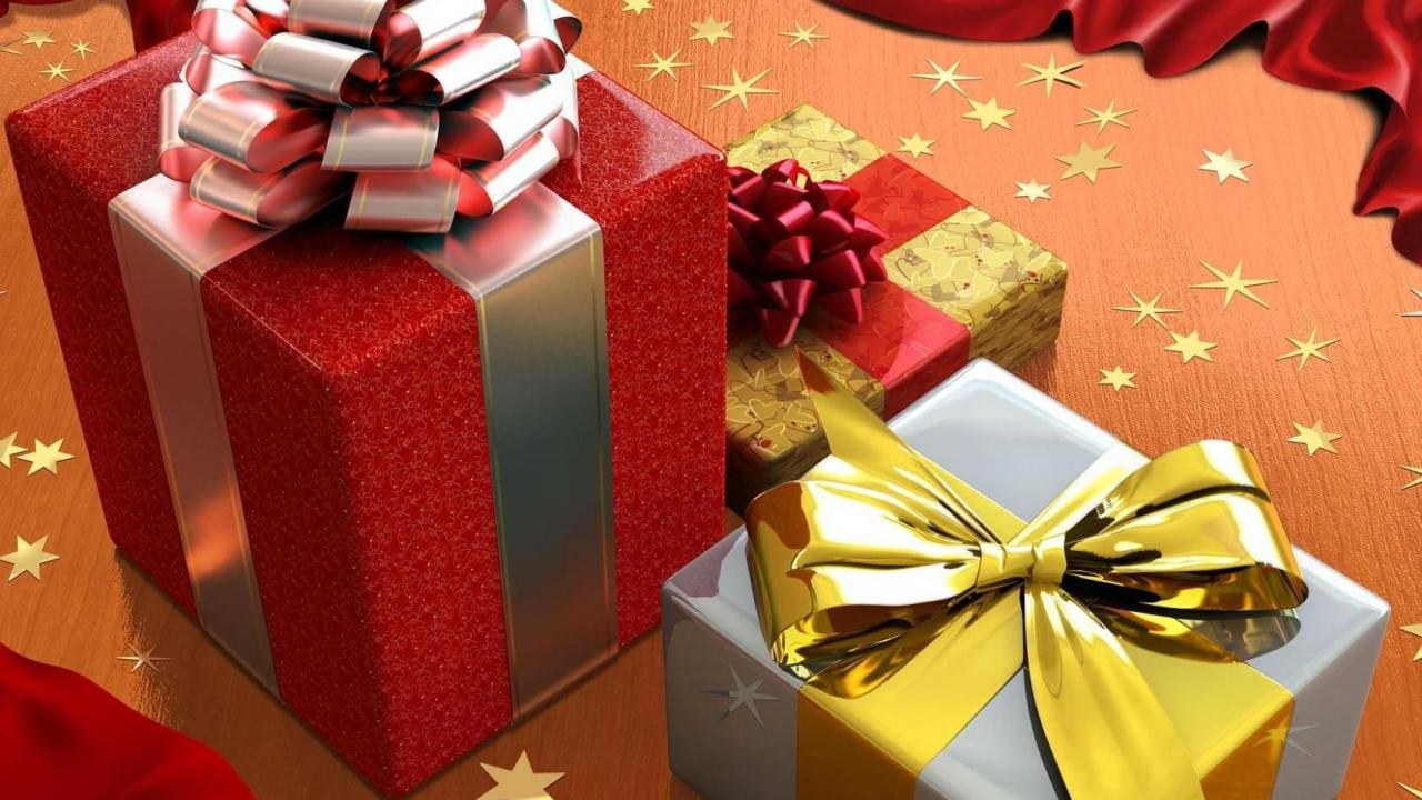 Como decorar las cajas de regalos - 1280x720