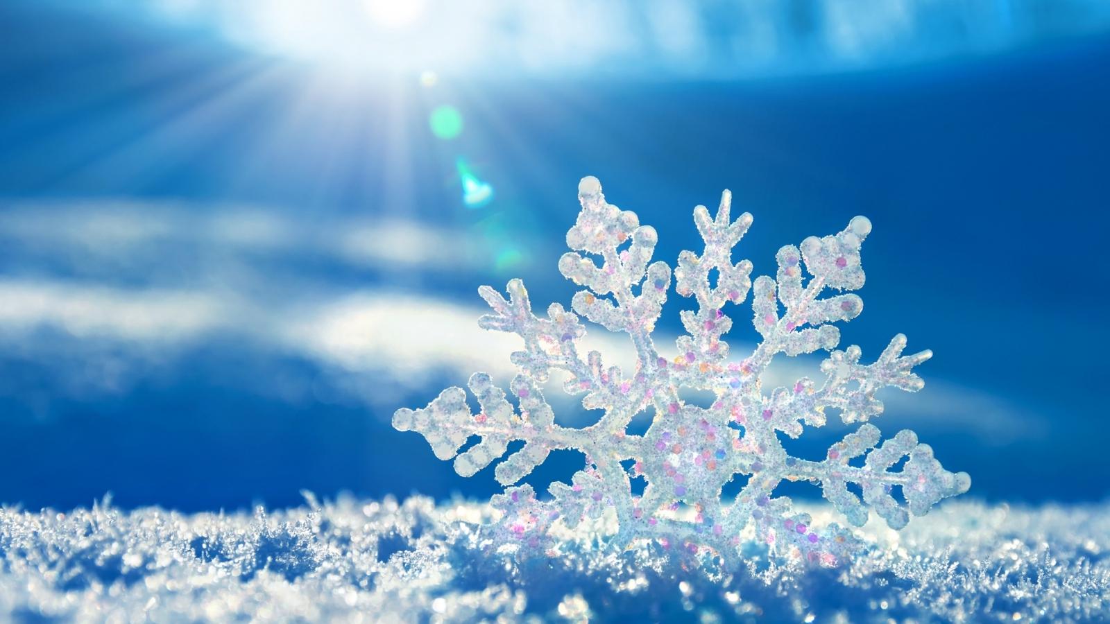 Cristal de hielo - 1600x900