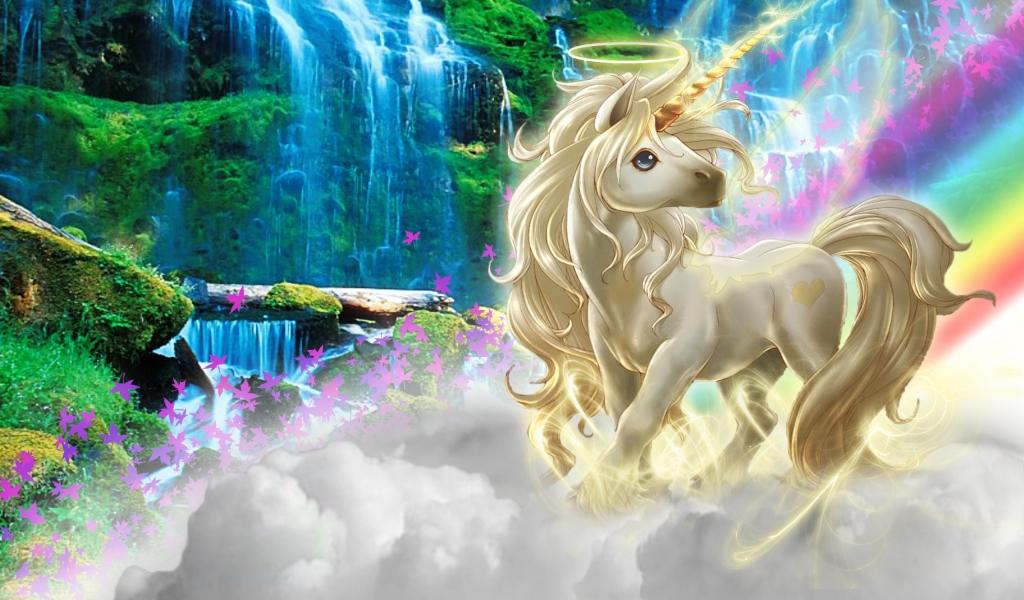 Dibujo de un unicornio - 1024x600