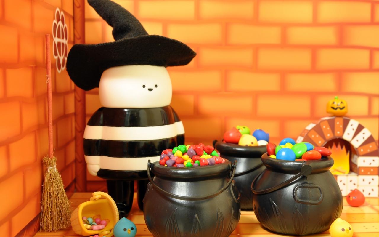 Dulces para Halloween - 1280x800
