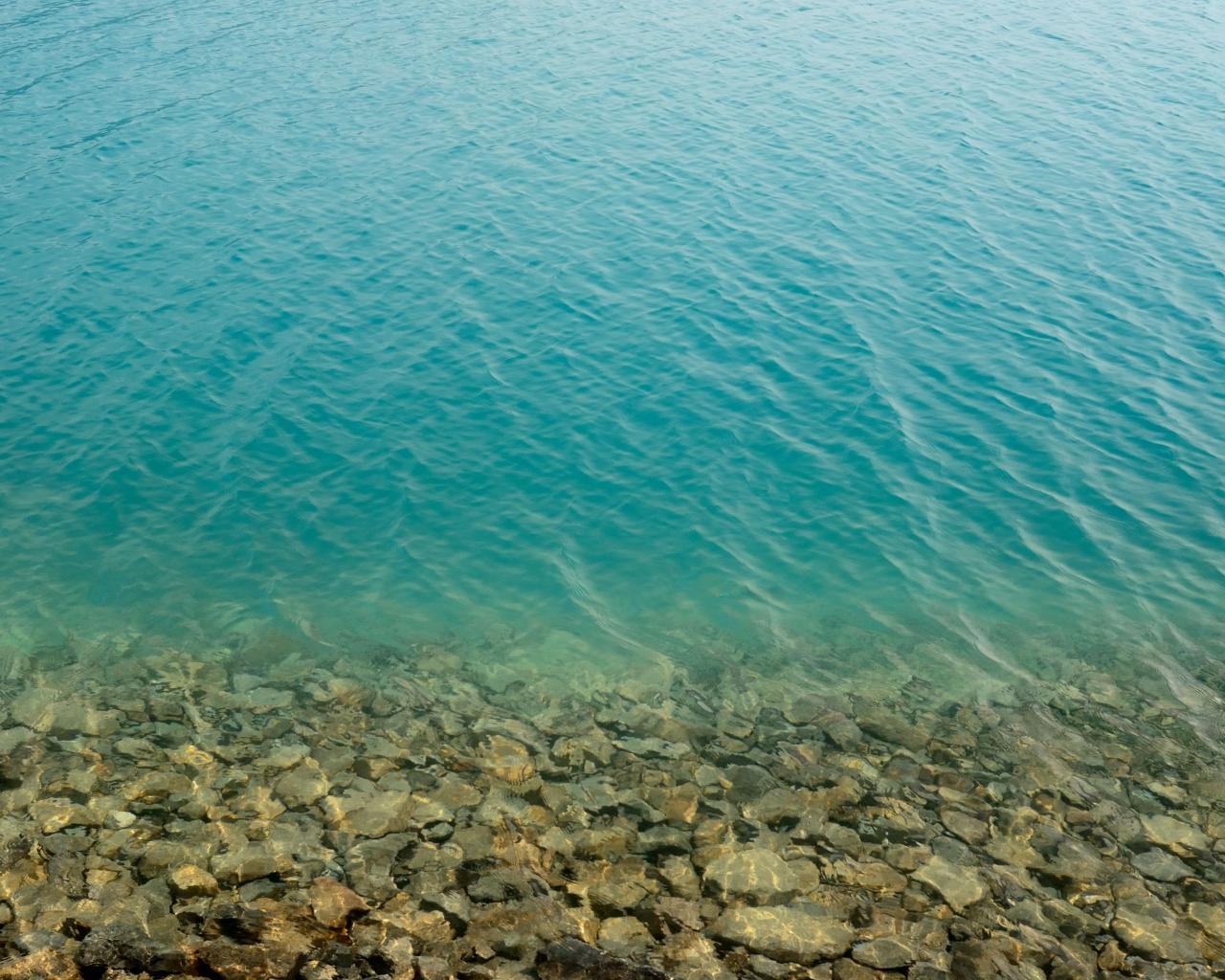 El agua de los lagos - 1280x1024