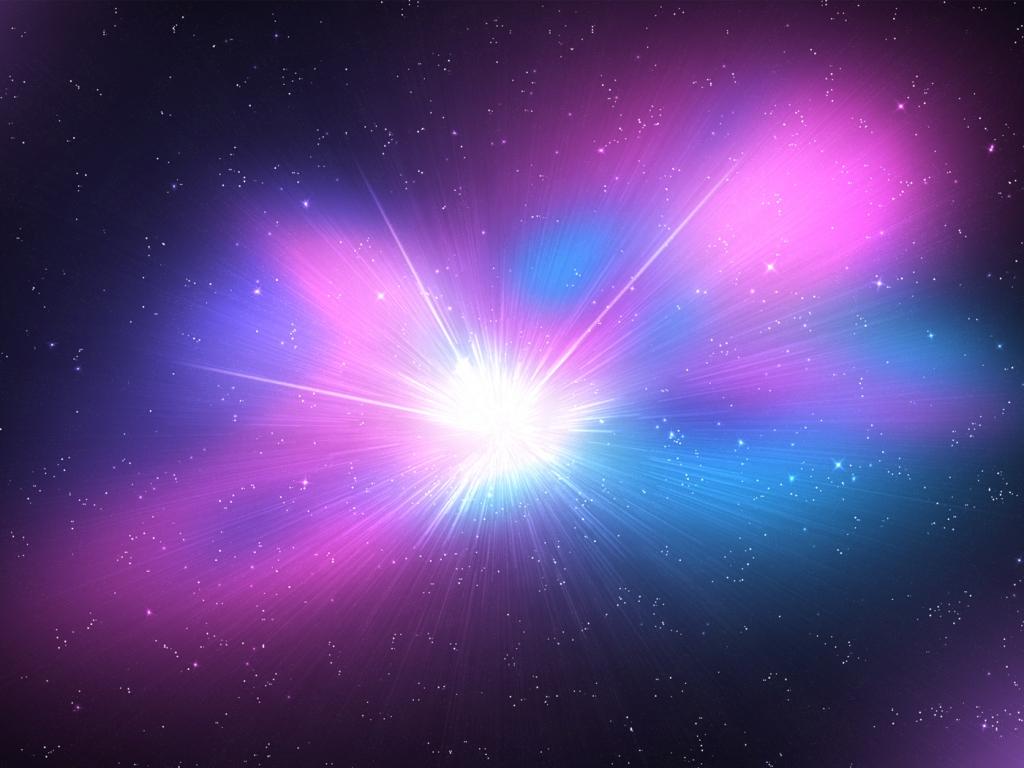 El espacio y galaxias - 1024x768