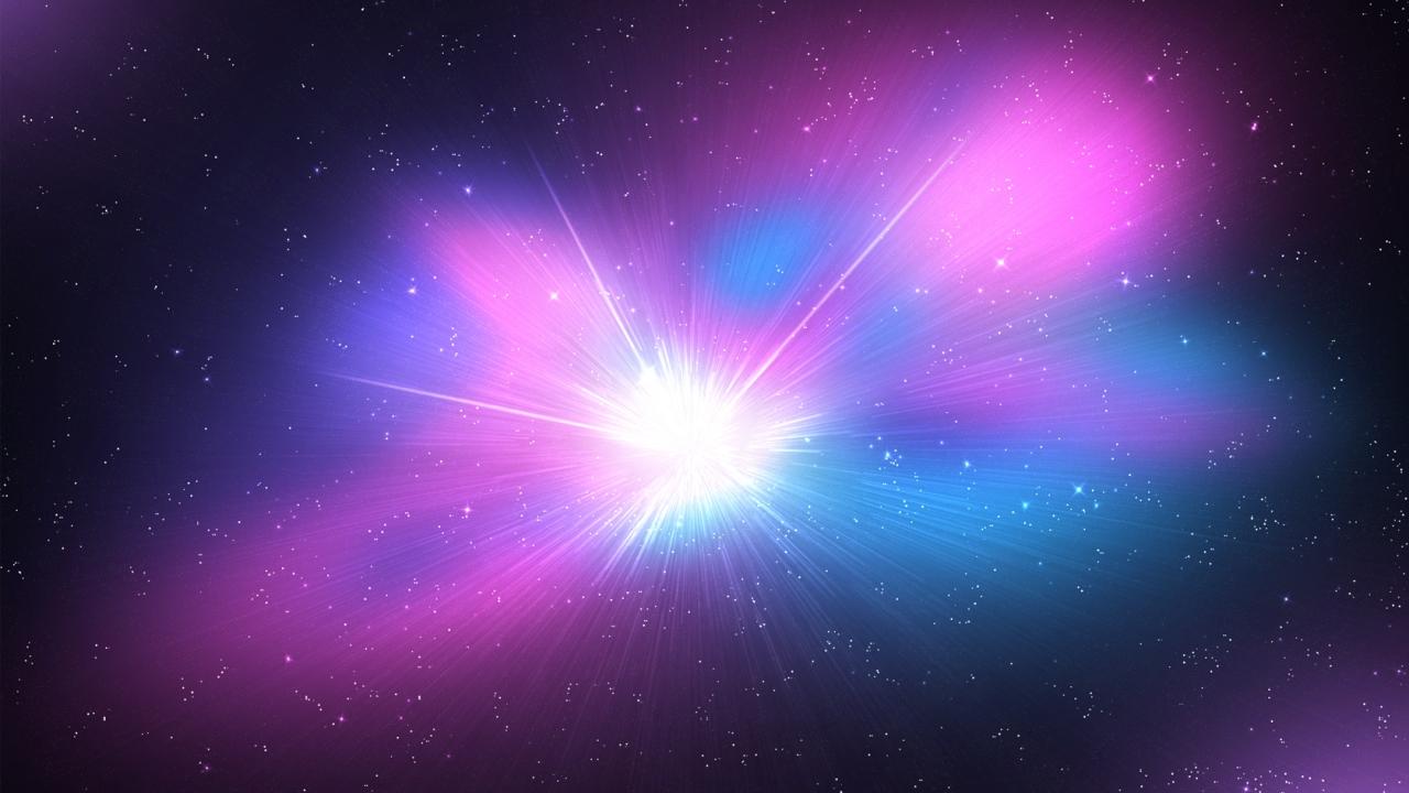 El espacio y galaxias - 1280x720