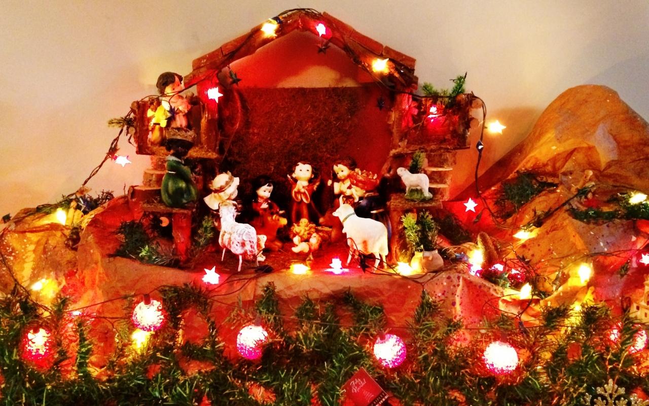 El Nacimiento de Jesus - 1280x800