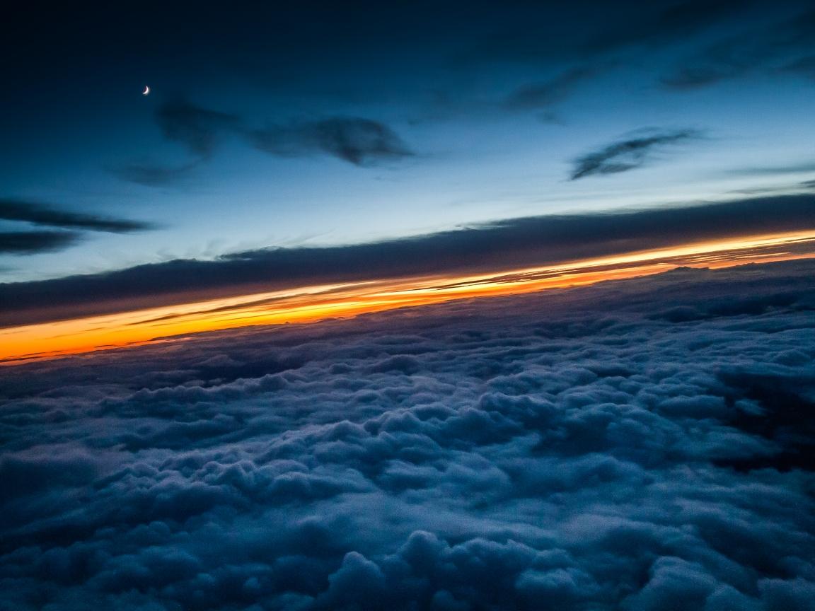 Encima de las nubes - 1152x864
