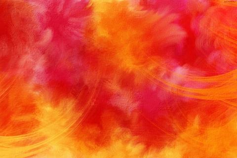 Fondo rojo y naranja - 480x320