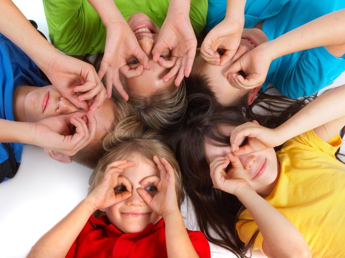 Fotografías creativas a niños - 1152x864