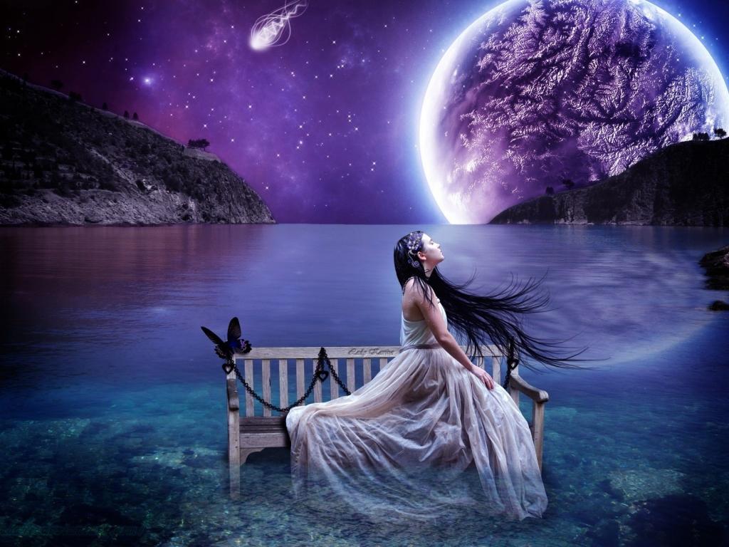 Fotos surrealistas mujeres - 1024x768