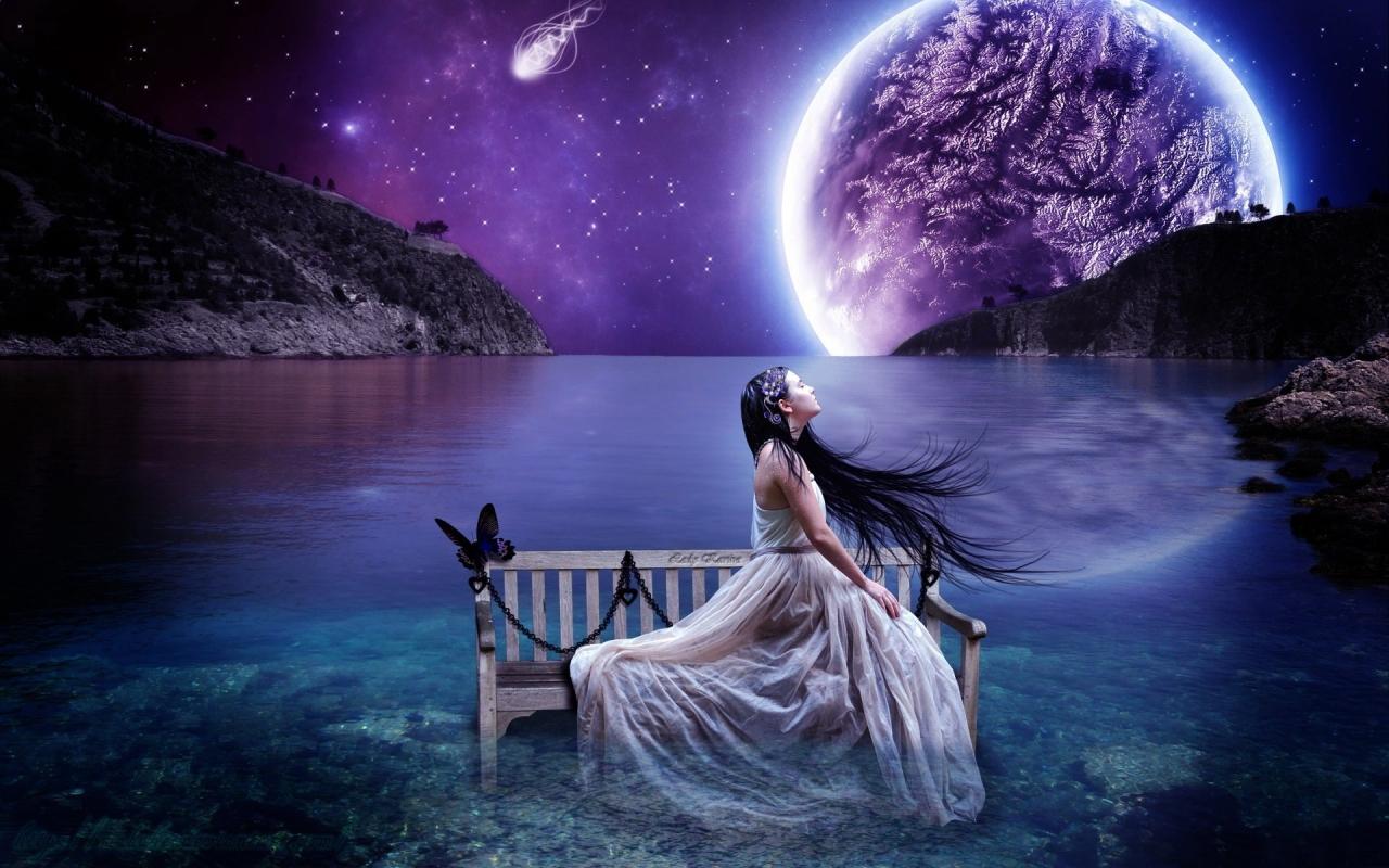 Fotos surrealistas mujeres - 1280x800