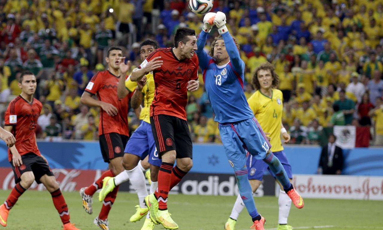 Mexico VS Brasil 2014 - 1280x768