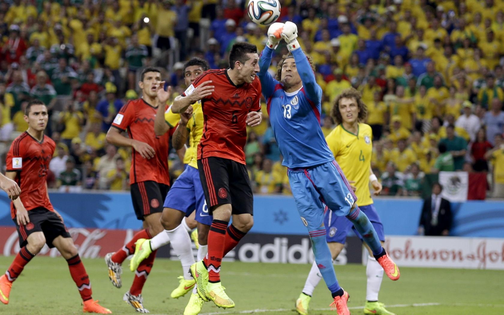 Mexico VS Brasil 2014 - 1680x1050