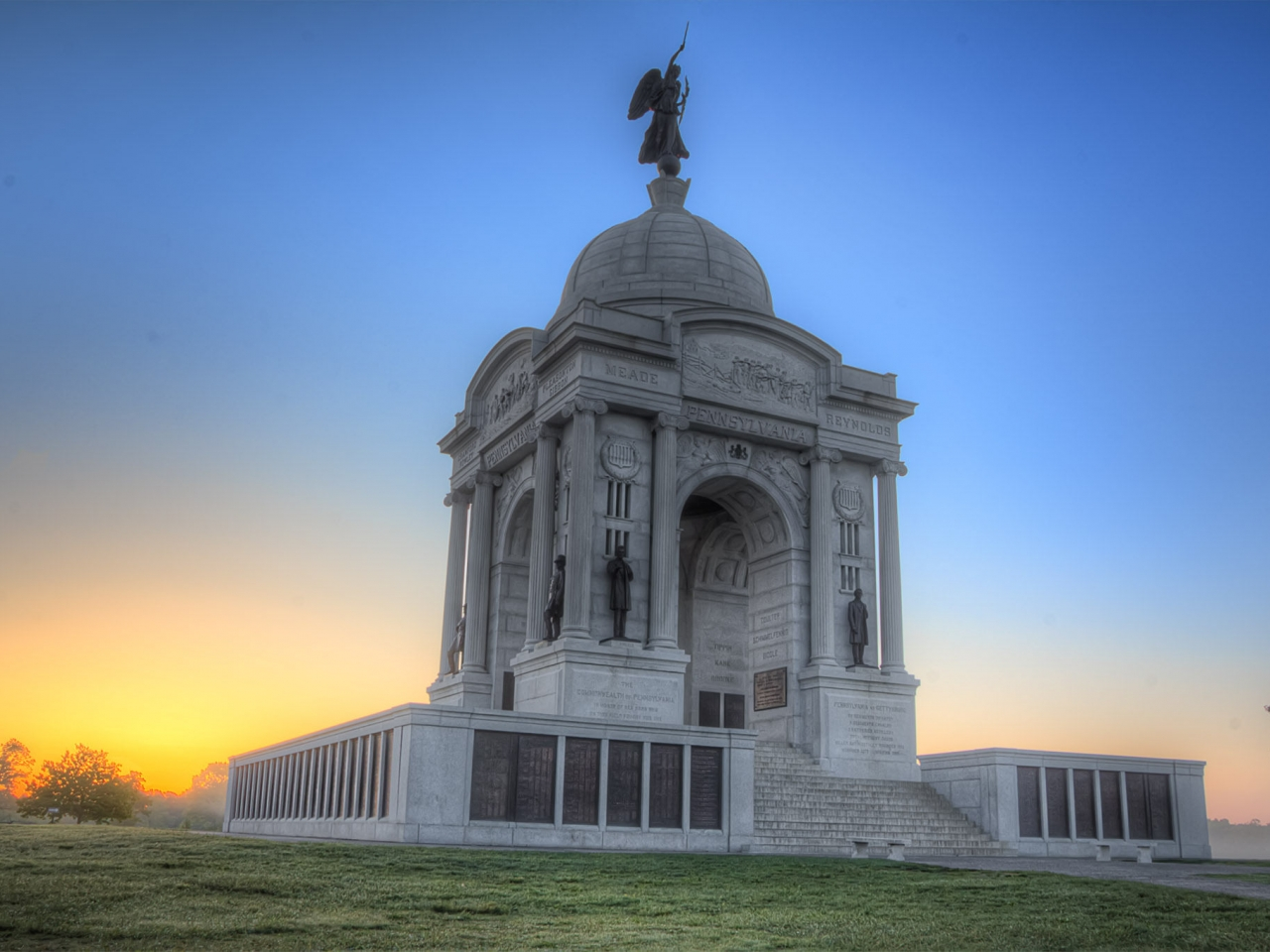 Monumento en Pennsylvania - 1280x960
