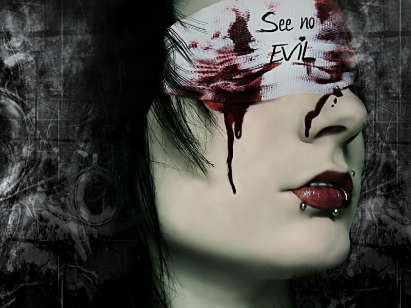 Mujer sangrando - 800x600