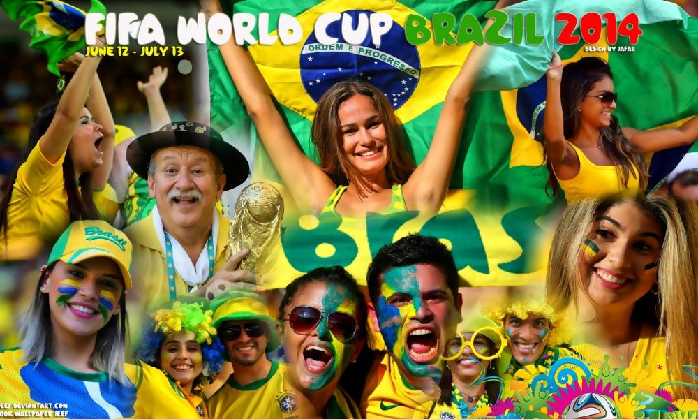 Mundial Brasil 2014 - 1000x600