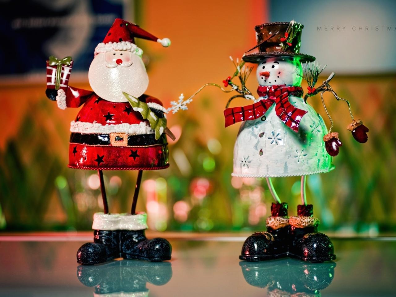 Muñecos de alambres para navidad - 1280x960