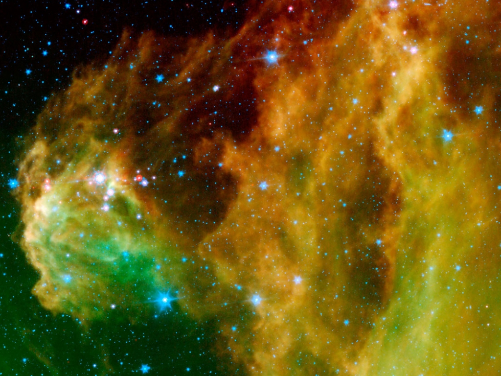 Nebulosas del espacio - 1024x768