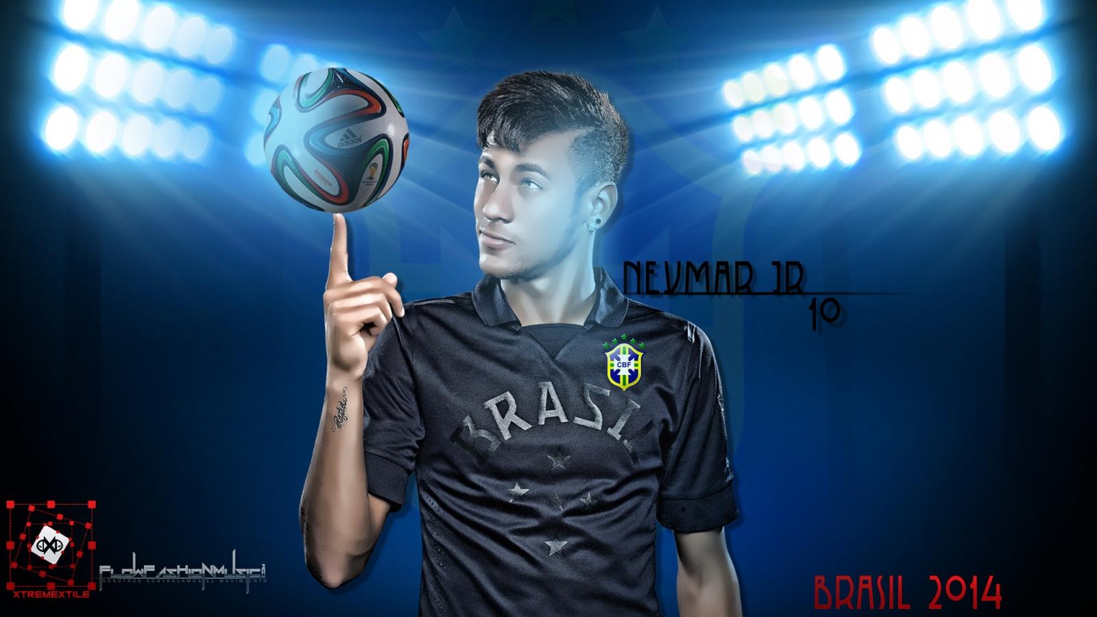 Neymar 10 - 1600x900