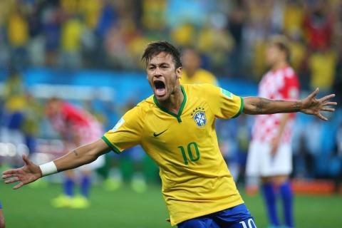 Neymar festejando gol - 480x320