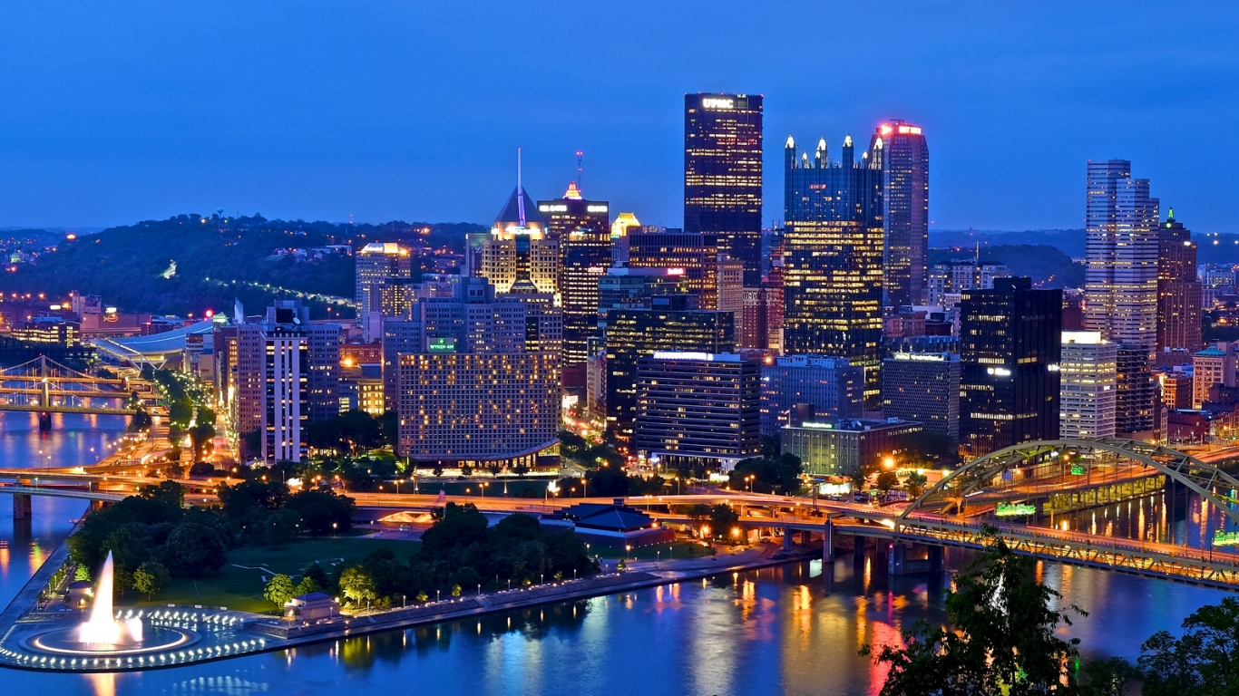 Pittsburgh - 1366x768