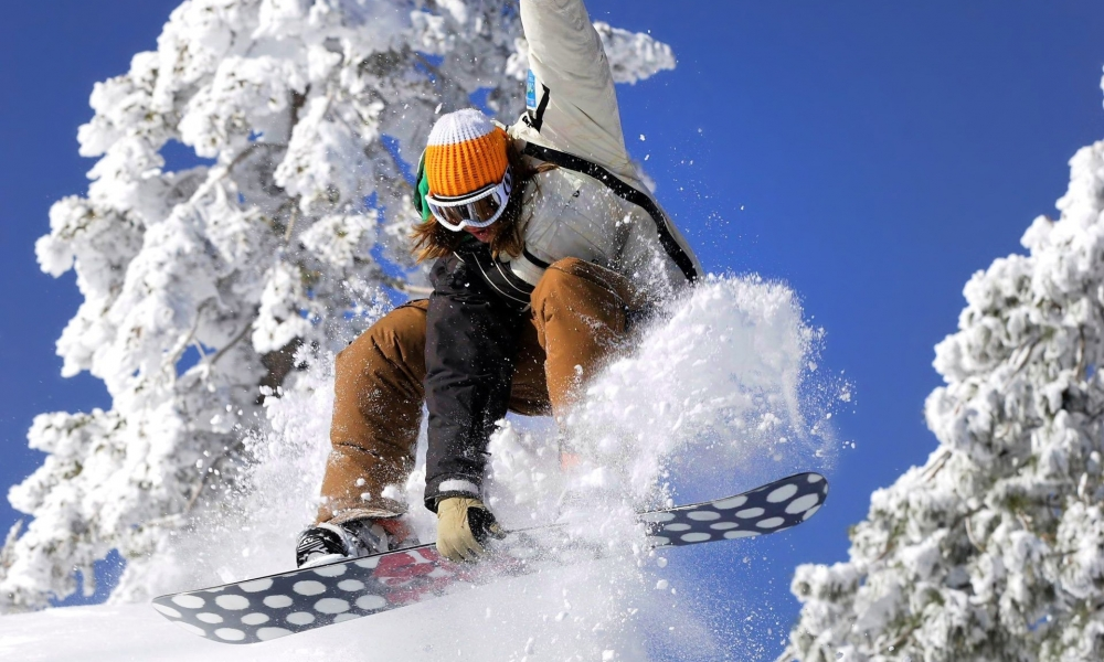 Snowboarding - 1000x600