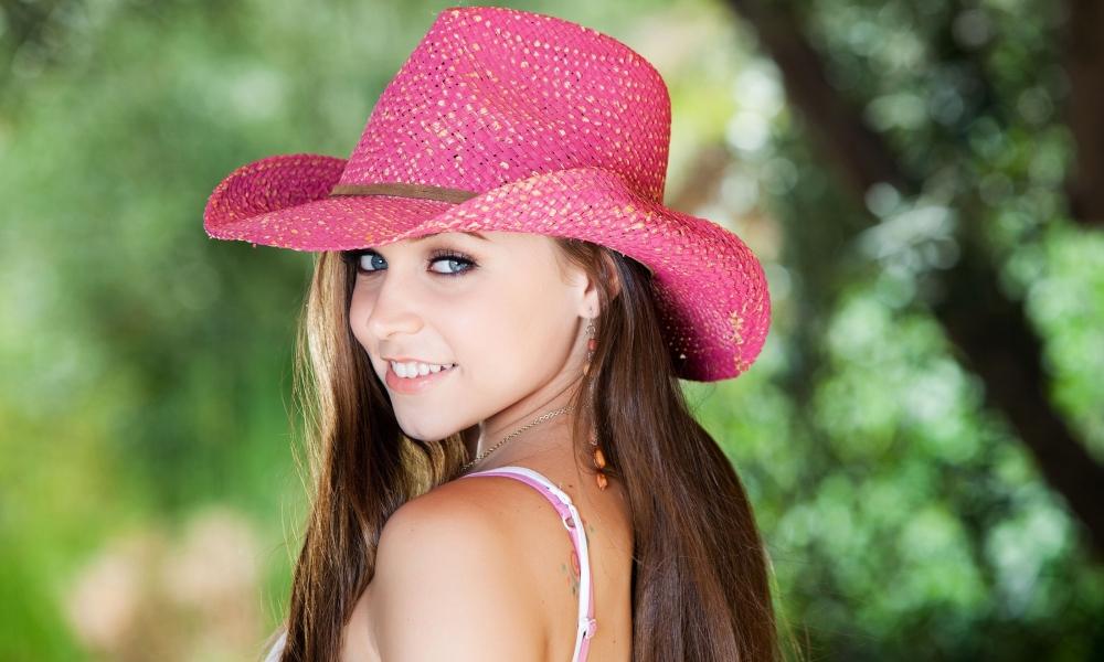 Sombrero rosado - 1000x600