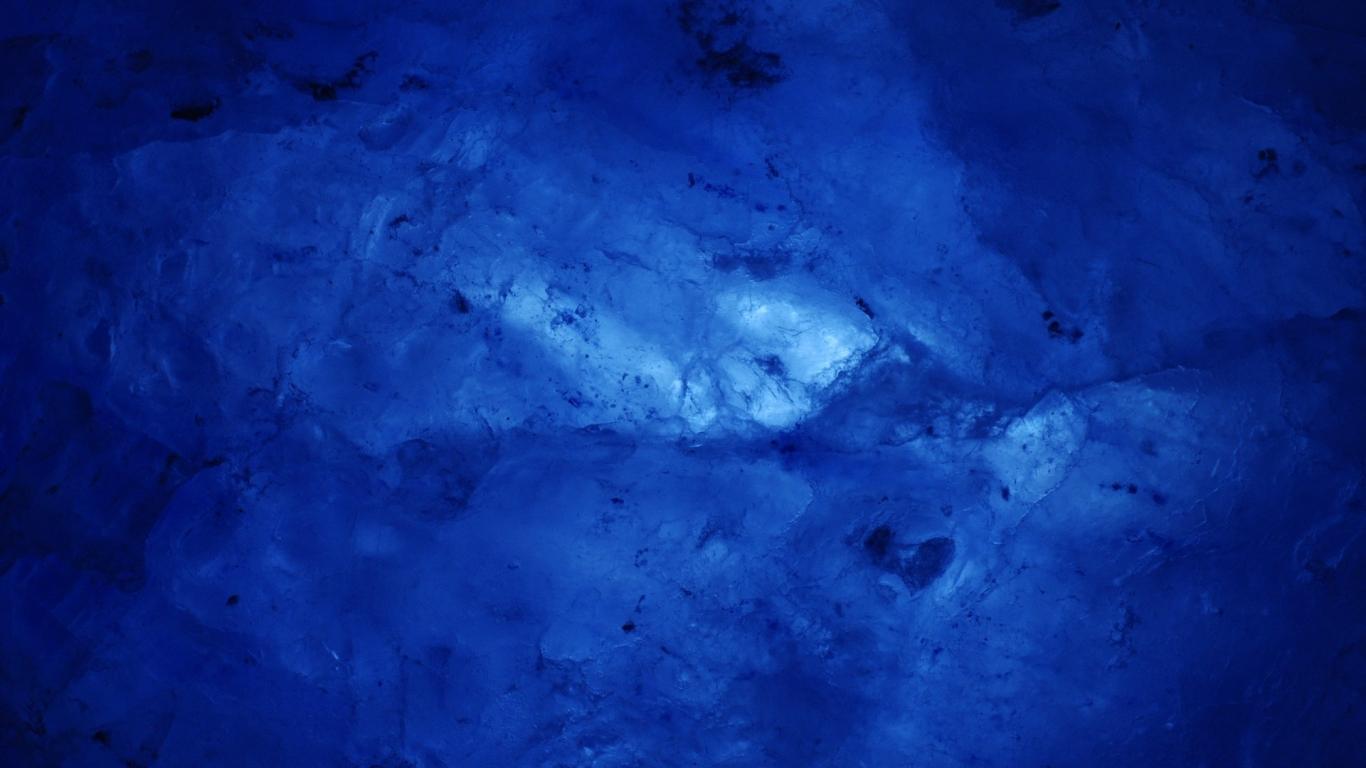 Textura de cristales de hielo - 1366x768
