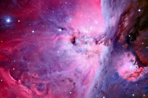 Textura de nebulosas - 480x320